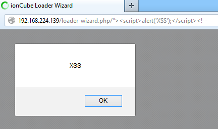 Multiple Vulnerabilities in ionCube Loader-wizard