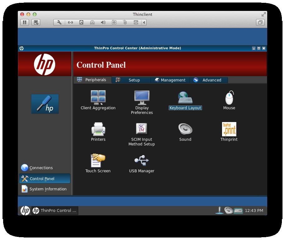 Analyzing HP Thinpro Firmware